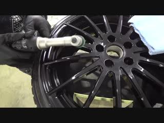 Детейлинг колёсных дисков Slik для Audi TT 8S by AV Detailing