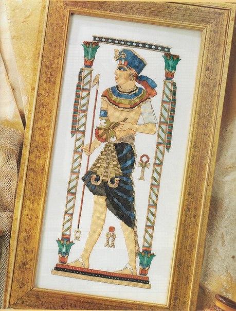 203 гипетская фреска с