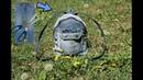 DIY: ШЬЕМ РЮКЗАК из ДЖИНСОВ ЛЕГКО И БЫСТРО\DIY Upcycled Denim Backpack