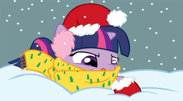 Игра Маленькая Пони Снежинки