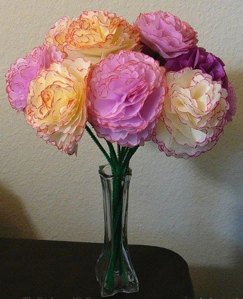 Цветы из бумаги своими руками фото легкие