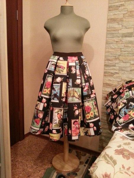 юбка шить на дому