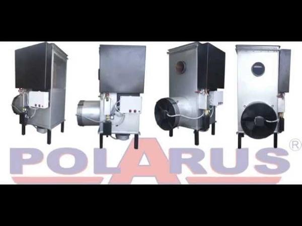 Как разжигать печь на отработанном масле Polarus P11C 2013