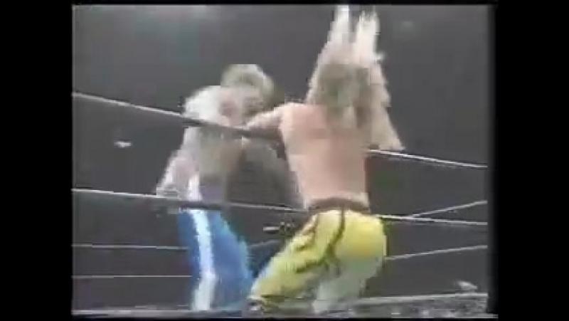 Chris Jericho vs Chris Benoit (WAR, 1995)