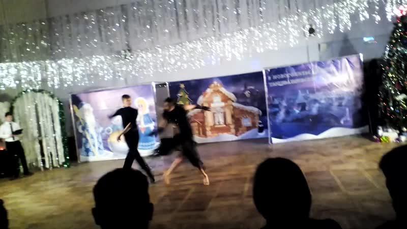 Пасадобль Илья и Даша