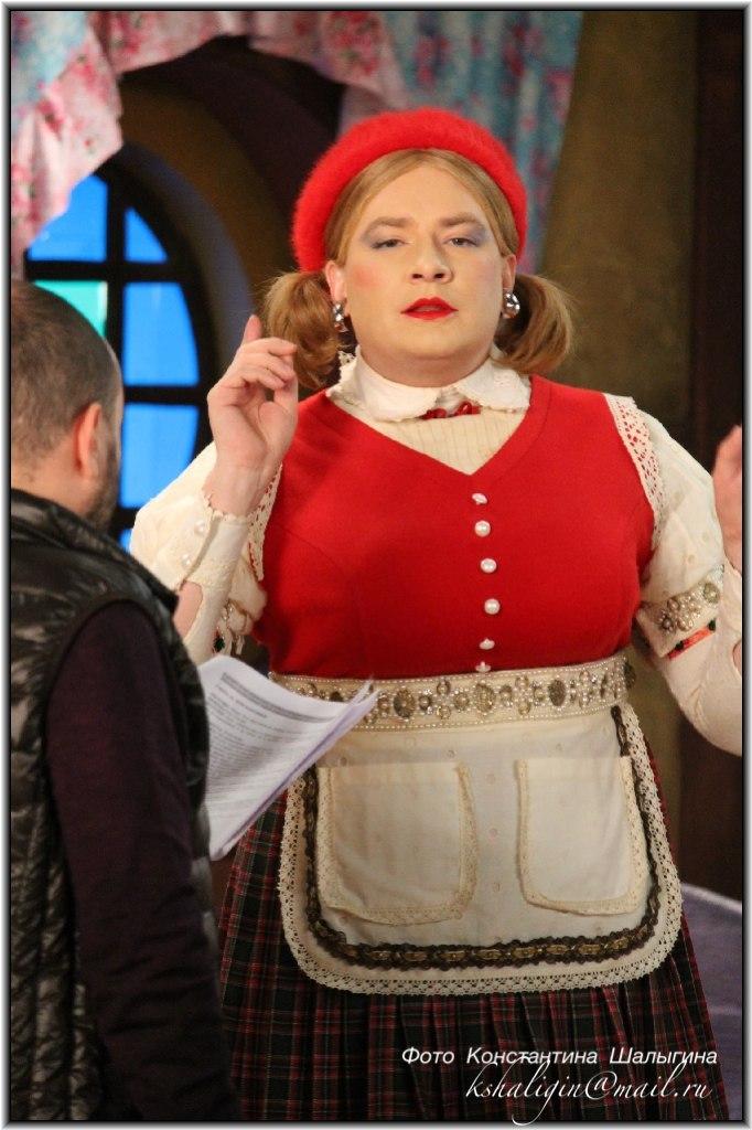 Верка Сердючка мюзикл Красная шапочка