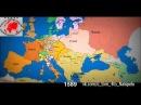 НЕВЕРОЯТНО! Как менялась территория границ России и Украины за последних 1000 ле
