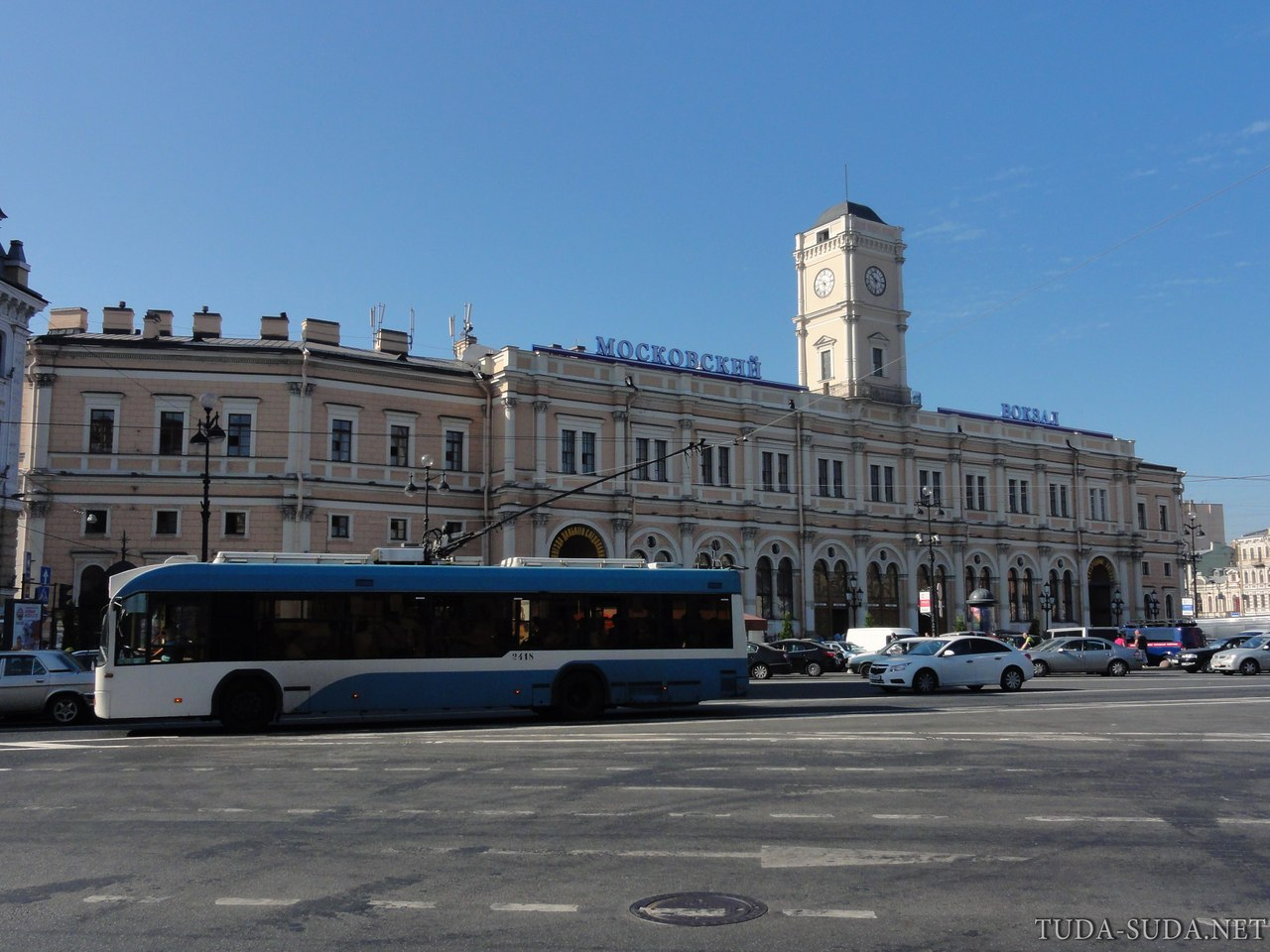 Московский вокзал Питер фото