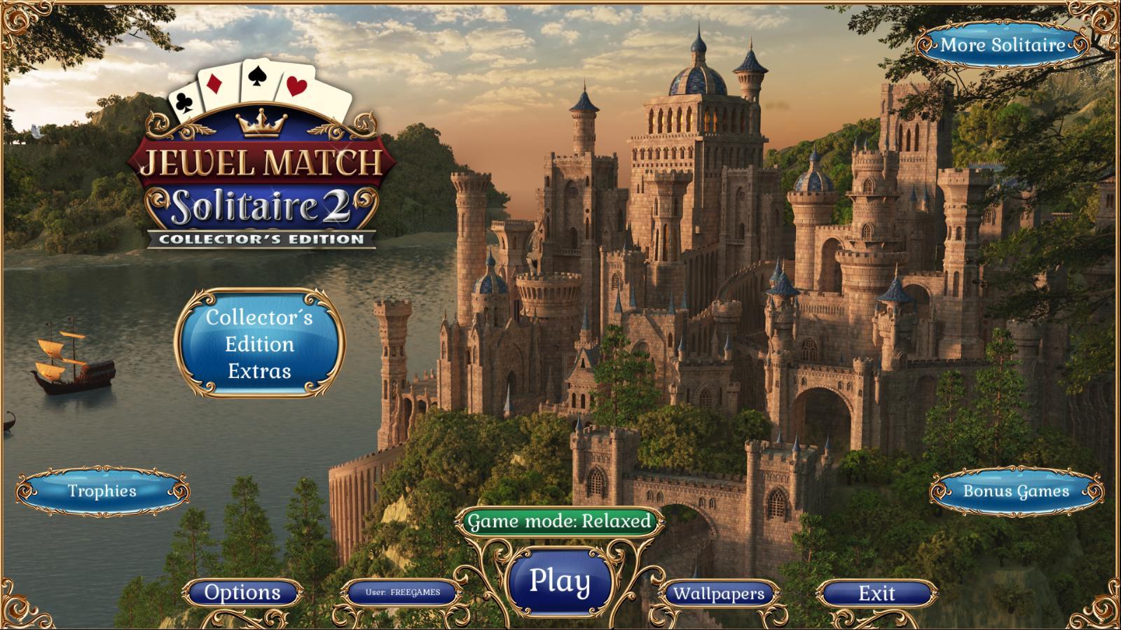 Джевел матч Пасьянс 2. Коллекционное издание | Jewel Match Solitaire 2 CE (En)