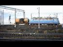Электровоз ВЛ60 маневровым на роспуске вагонов ст Лоста