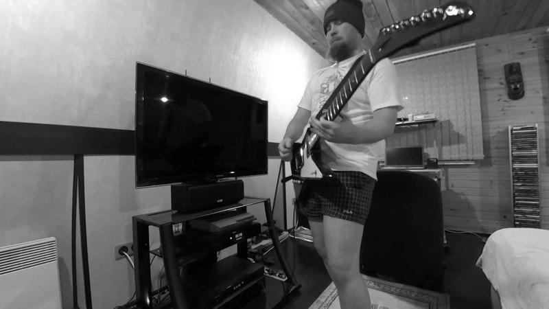 Metallica Sad But True Guitar Solo Cover by Stan Bulan