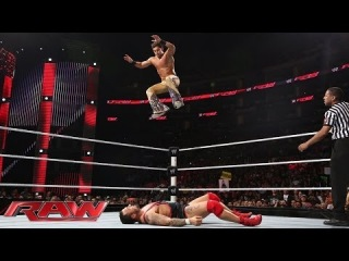 Santino Marella vs. Fandango: Raw, Feb. 10, 2014