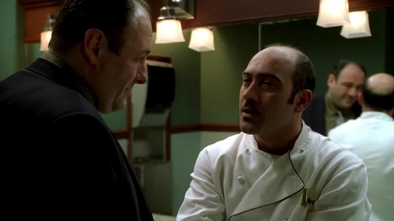 Клан Сопрано S04E06 10 Тони ужинает с Дженис Арти отчитывается по неотданным деньгам