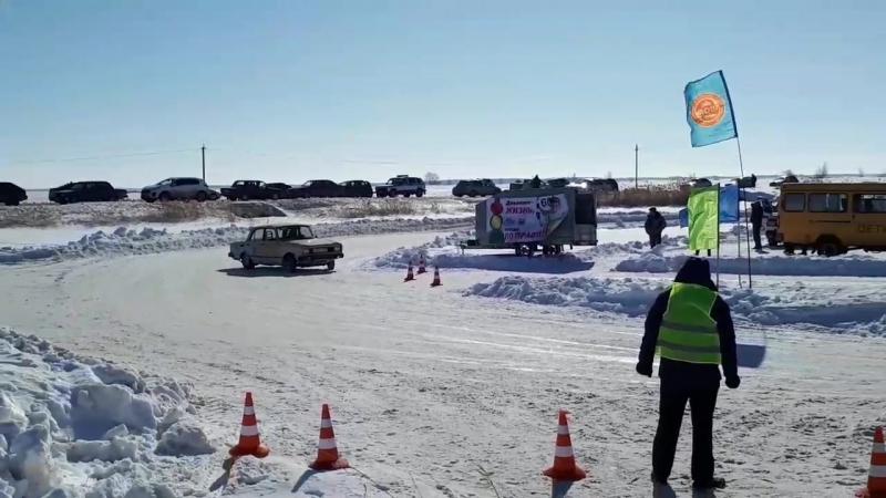 ледовые гонки в Марьяновке