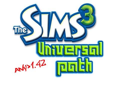 Универсальный патч до 1.42 Обновлено 30.10.12. Название игры: The Sims 3 Г