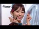 181101 IZ*ONE (아이즈원) - 라비앙로즈 (La Vie en Rose) @ M!Countdown Debut Stage