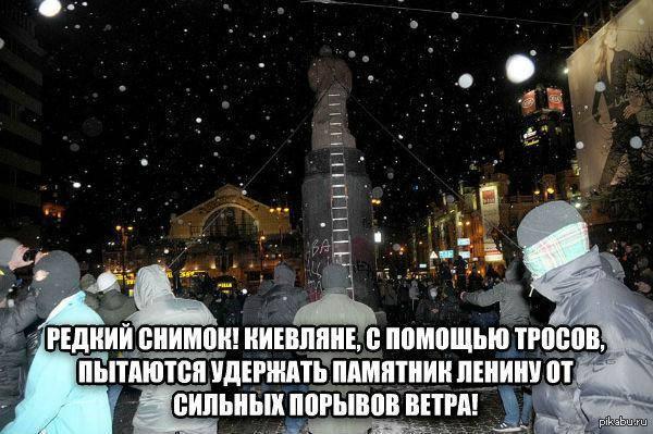 Симоненко требует от ГПУ наказать виновных в снесении памятника Ленину - Цензор.НЕТ 8895