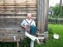 Гармонист Кузьма из Селижая