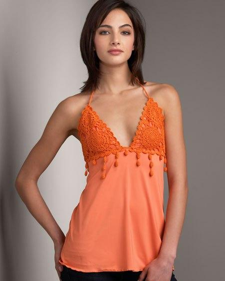 Идеи для переделок одежды — комбинируем ткань с вязанием… (7 фото) - картинка
