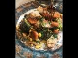 Вкусное и полезное блюдо из индейки и овощей
