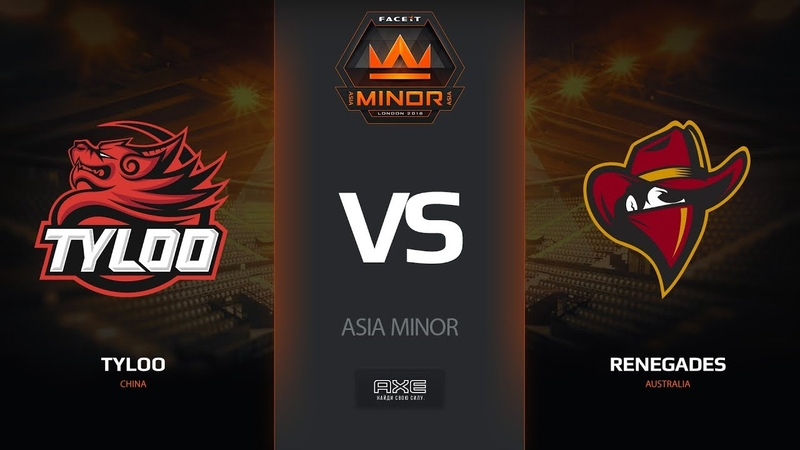 TyLoo vs Renegades, map 3 cache, Asia Minor – FACEIT Major 2018