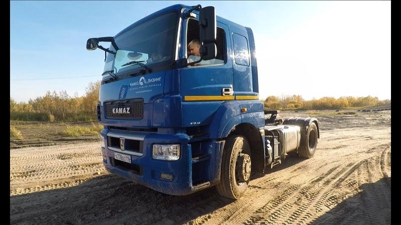 КАМАЗ-54909 с подключаемым передним приводом. 4 WHEELS