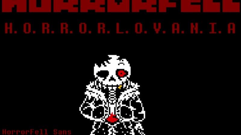 HorrorFell | H.O.R.R.O.R.L.O.V.A.N.I.A | ask before use | HorrorFell Sans Theme