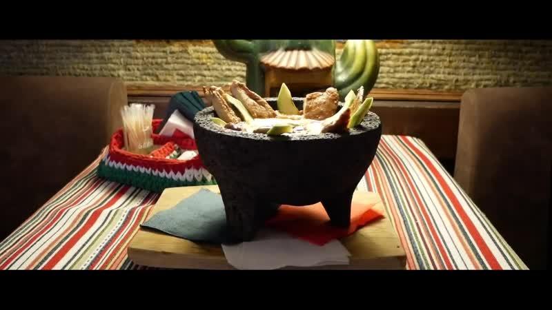 Молькахете. Традиционная подача в Tequila Boom