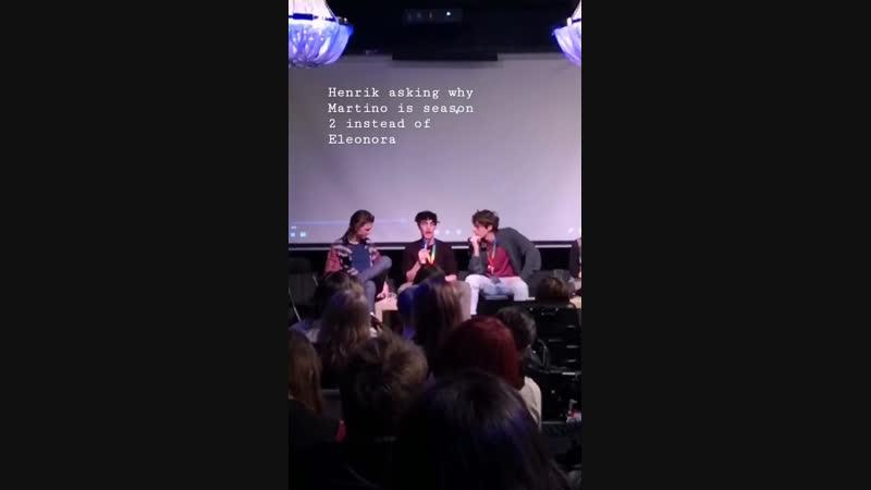 High on Skam: Хенрик спрашивает, почему сезон Мартино идёт 2
