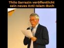 Thilo Sarrazin veröffentlicht sein neues Anti-Islam-Buch