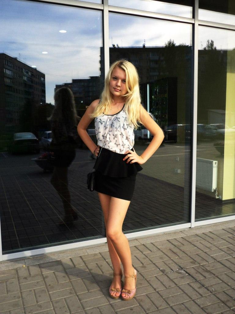 Фото подборка красивых девушек с контакта VK № 15
