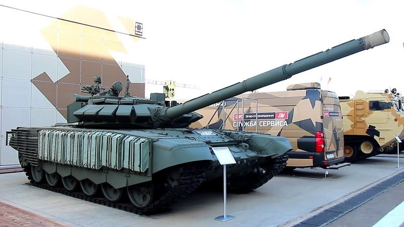 Модернизированный танк Т 72