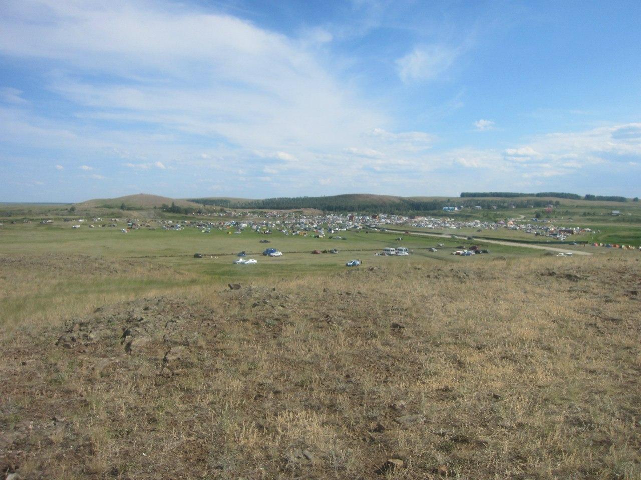 Вид на лагерь (25.06.2013)