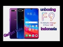 Unboxing Oppo F9 Purple 4/64gb - Indonesia