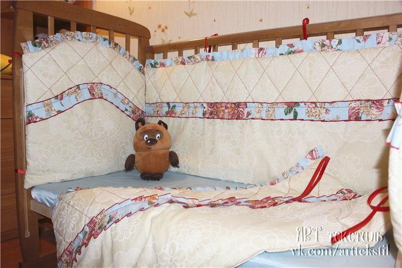Бортики для детских кроваток - handmade_ru