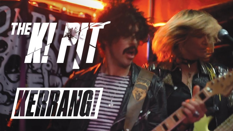THE SHRINE Live In The K! Pit (Tiny Dive Bar Show)