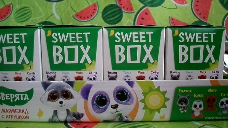 Обзор на полную коллекцию Игрушки Свит Бокс Sweet BOX Зверята