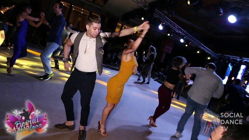 Rafael Barros Carine Morais - Salsa social dancing | Beirut Salsa Loca 2018