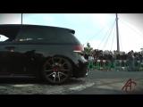 VW Golf R shooting LOUD FLAMES.mp4
