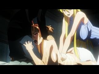 Школа мертвецов(Gakuen Mokushiroku: High School of the Dead) - 10 [RUS озвучка] (аниме эротика, этти,ecchi, не хентай-hentai)