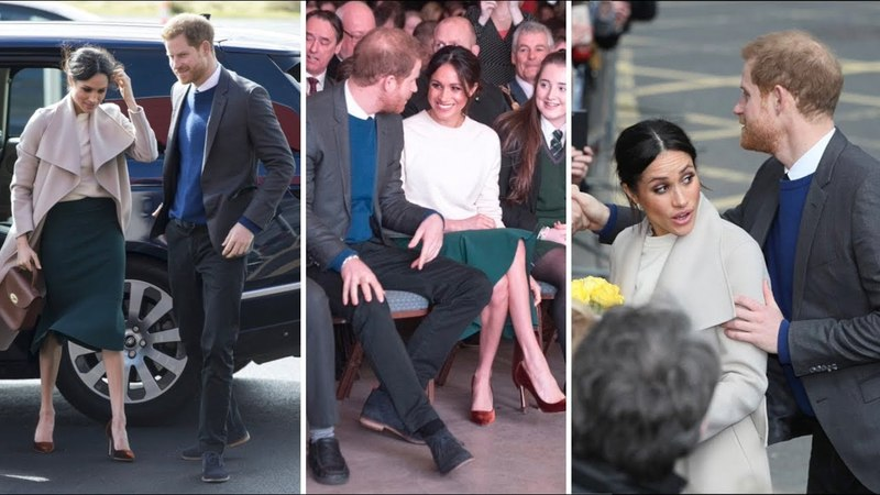 Prince Harry and Meghan Markle in Belfast FULL DAY