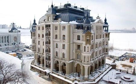 Пятерку городов с самой дорогой жилой недвижимостью замыкает Казань.