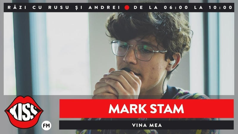 Mark Stam - Vina mea (Live @ KissFM)