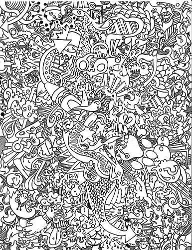 Раскраски антистресс (6 фото) - картинка