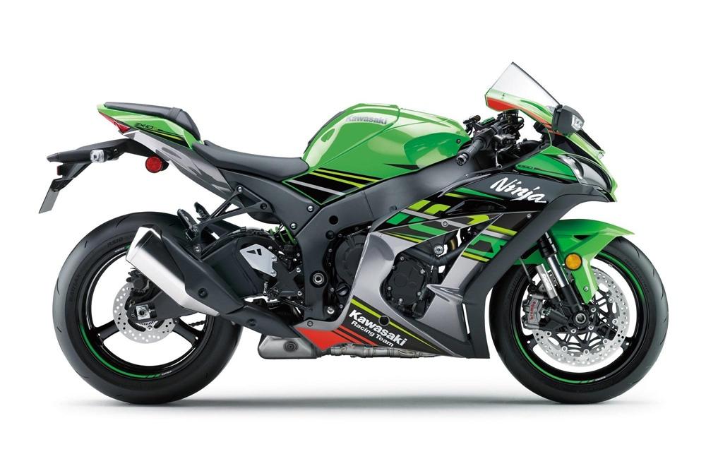 Обновленная линейка спортбайк Kawasaki Ninja ZX-10R 2019