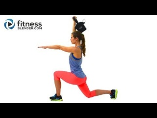 42 Minute Brutal HIIT Cardio and Kettlebell Workout - Workout to Build Lean Muscle and Burn Fat Fast