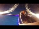 Guy Westgate Fox twilight aerobatic display with fireworks!