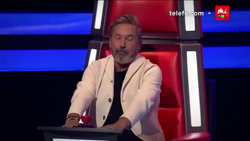 Moment de La Voz Argentina