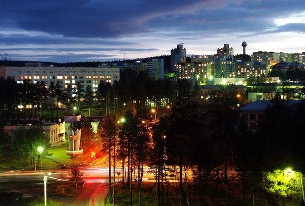 фото города трёхгорный