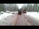 Зимник г.Мирный - г.Усть-Кут 03.2014г